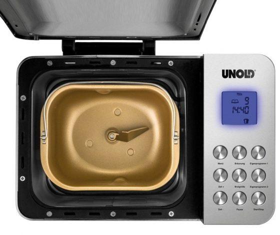 maquina de pan unold 68456