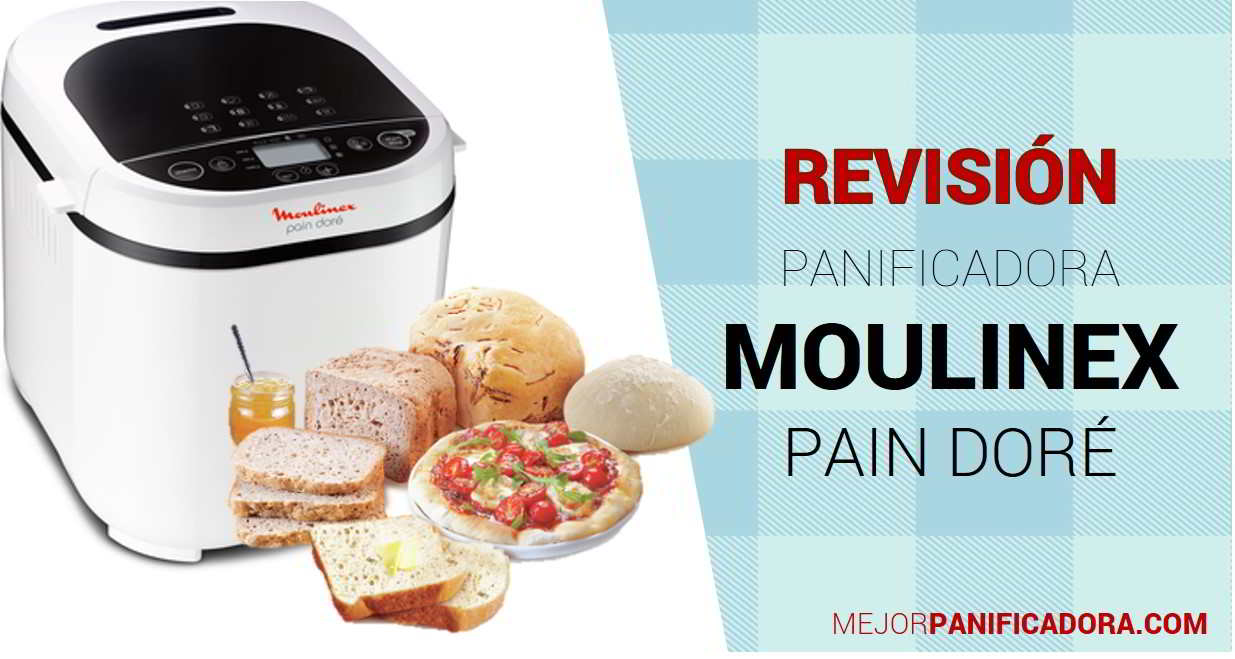 Panificadora Moulinex Pain Doré OW2101 Opiniones