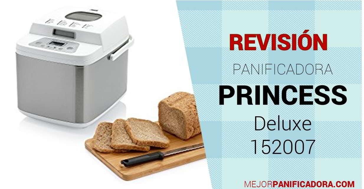 Panificadora Princess Deluxe 152007 Opiniones