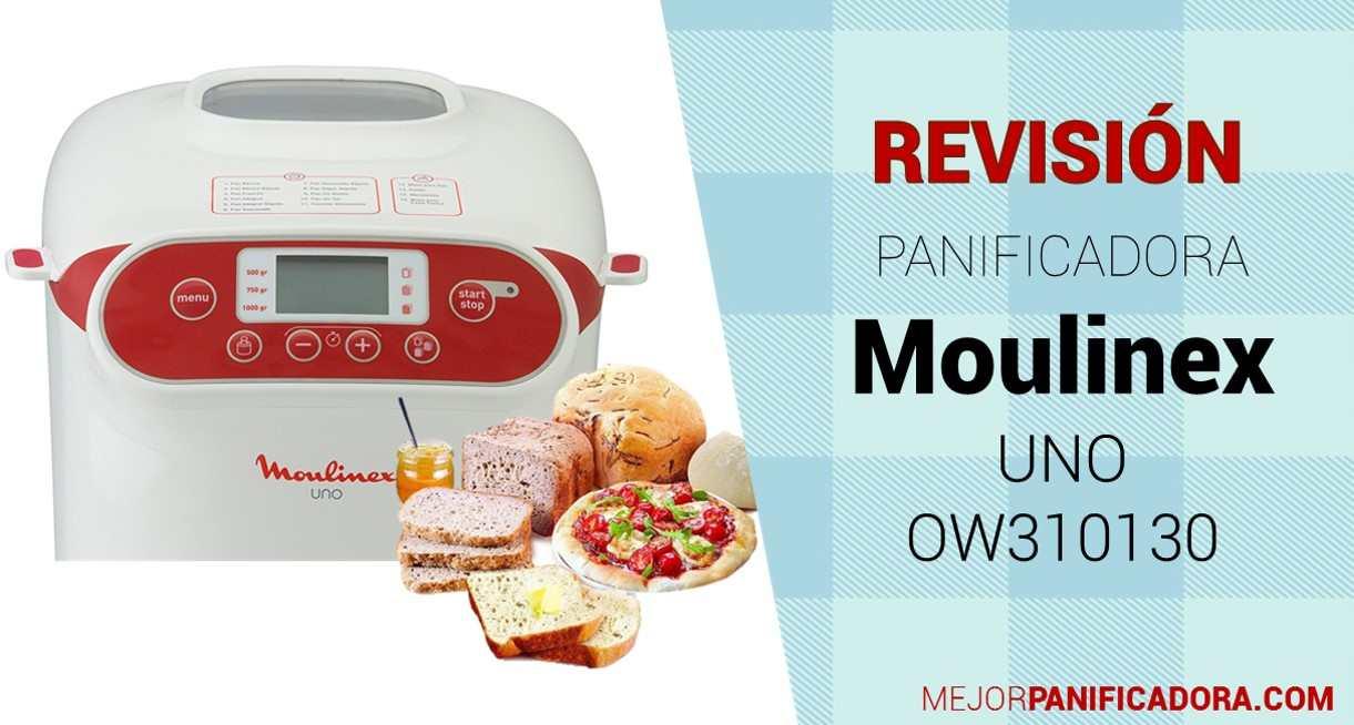 Panificadora Moulinex UNO OW310130 Opiniones