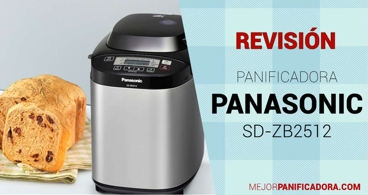 Panificadora Panasonic SD-ZB2512 Opiniones