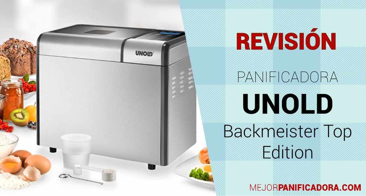 Panificadora Unold Backmeister Top Edition Opiniones
