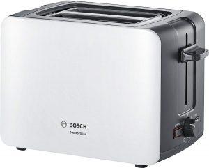 4 Bosch TAT6A111 - Tostadora Práctica y Sencilla