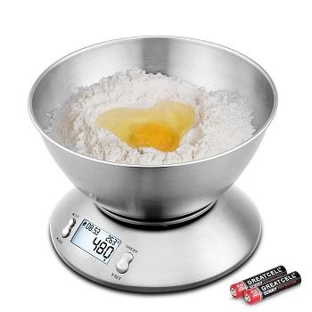 Báscula de Cocina con Bol Uten DE-QHTW relacion precio-calidad