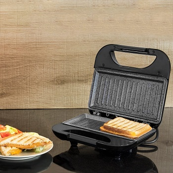 Cecotec Rock'nToast Square Sandwichera Grill 1
