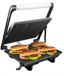 #6 Aicok Grill 4-Serving - Sandwichera Eléctrica Extra-Grande