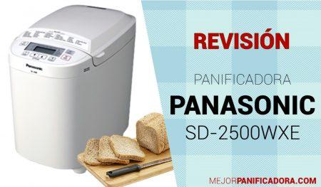 Panificadora Panasonic SD-2500WXE Opiniones