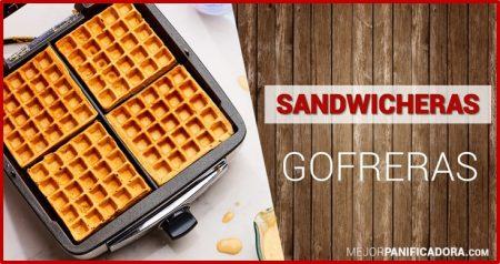 Sandwichera Gofrera